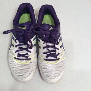 Women's Asics Gel Rocket Tennis Shoes Size 8.5